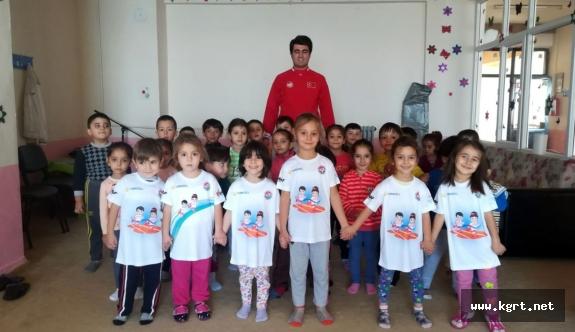 Ermenek'te Kur'an Kursu Öğrencileri Atletizmle Tanışıyor