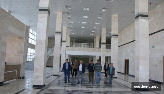 Fuar Ve Kongre Merkezi Tamamlandı