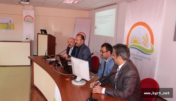 KKYDP 12. Etap Bilgilendirme Toplantısı Yapıldı