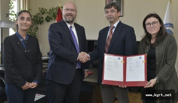 KMÜ İle Mıchıgan State Üniversitesi Arasında Akademik İşbirliği Protokolü