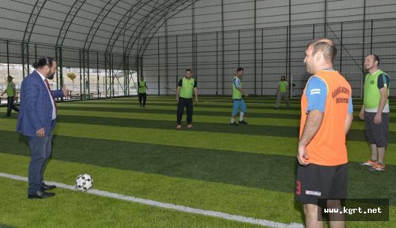 KMÜ'de Güz Dönemi Spor Oyunları Başladı