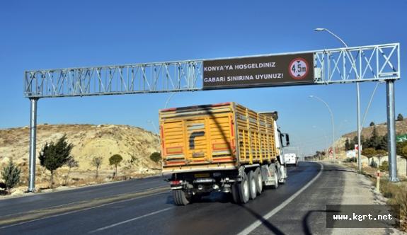 Konya'da Yüksekliği Fazla Olan Araçlar Şehir Merkezine Giremeyecek