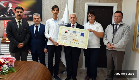 TOBB Fen Lisesi, Tübitak Bilim Şenliğinde Türkiye Birincisi