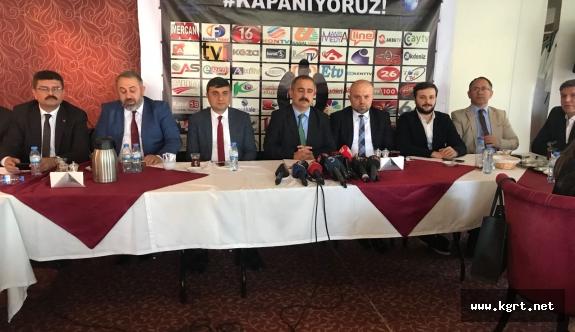 AYD Başkanı Burhan: Yerel Kanallar Bir Bir Kapanıyor
