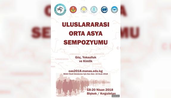I. Uluslararası Orta Asya Sempozyumu Kırgızistan'da Yapılacak