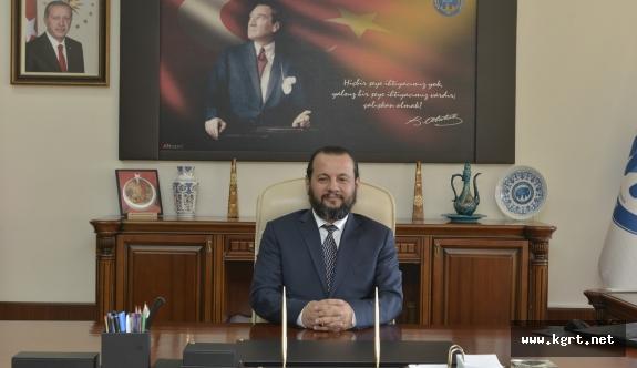 Rektör Akgül'den Öğretmenler Günü Mesajı