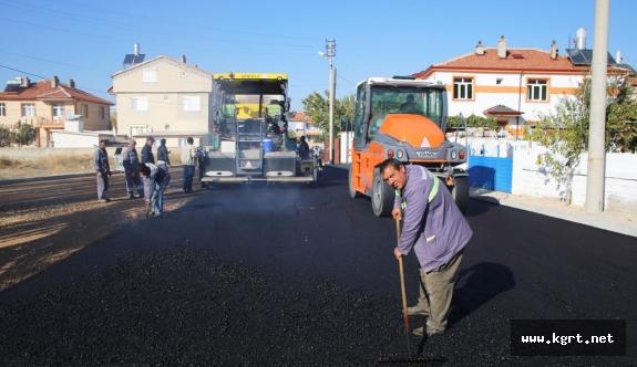 Sümer Mahallesi'nde Asfalt Çalışmaları Devam Ediyor