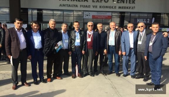 Ticaret Borsası Growtech Antalya Tarım Fuarına Katıldı