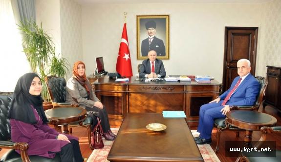Türkçenin Birincisinden Vali Meral'e Ziyaret