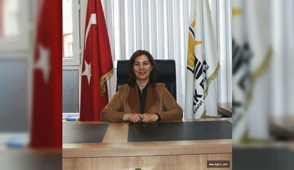 AK Parti Kadın Kolları Başkanı Günenç: Kadın Önce Ailenin Sonrada Toplumun Temel Taşıdır
