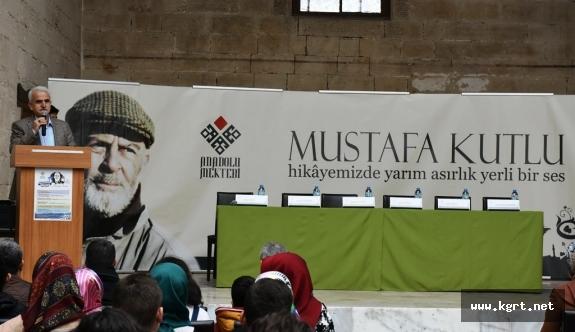 Anadolu Mektebi Öğrencileri, Hikâyemizin Yarım Asırlık Yerli Sesi Mustafa Kutlu'yu Anlattı