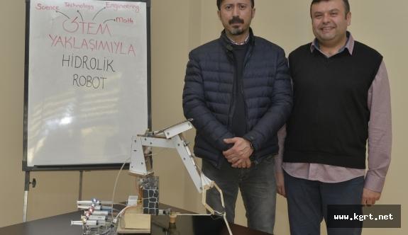 'Hidrolik Robot' Ödüle Layık Görüldü