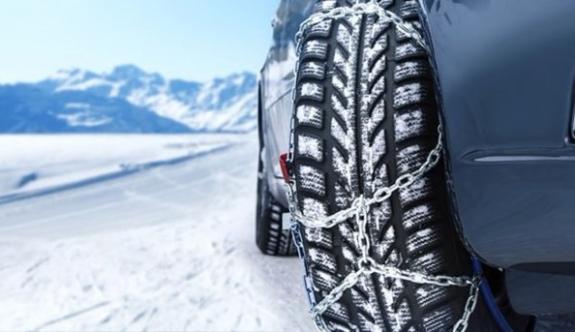 İlimizde Kış Lastiği Takmayan Araçlara Cezalar Yağacak