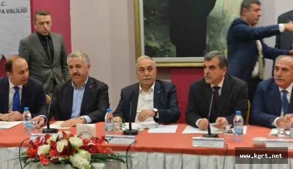 Karaman-Konya-Gaziantep Hızlı Tren Çalışmalarına Şanlıurfa'da Dahil Edildi