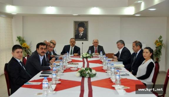 MEVKA Yönetim Kurulu Vali Fahri Meral Başkanlığında Toplandı
