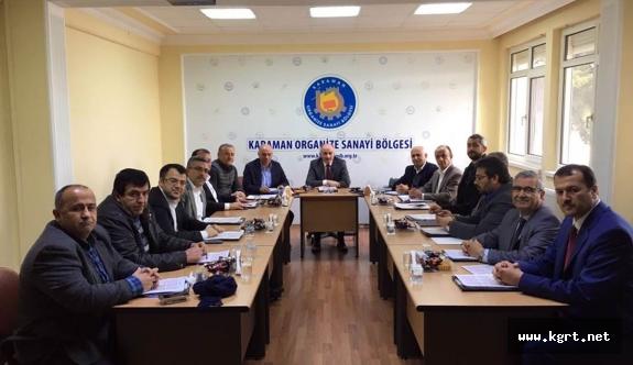 OSB Müteşebbis Heyeti Yılın Son Toplantısını Gerçekleştirdi