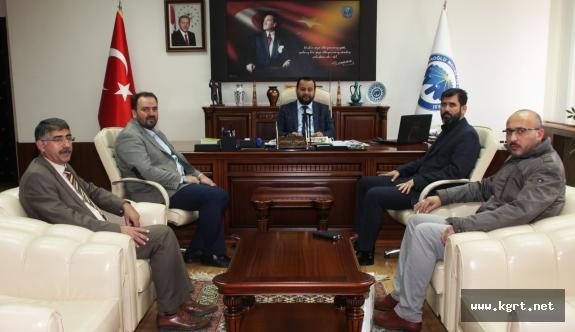 Sivil Toplum Kuruluşlarından Rektör Akgül'e Ziyaret