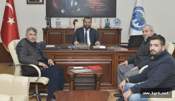 Yeni Şafak Gazetesi Temsilcilerinden Rektör Akgül'e Ziyaret
