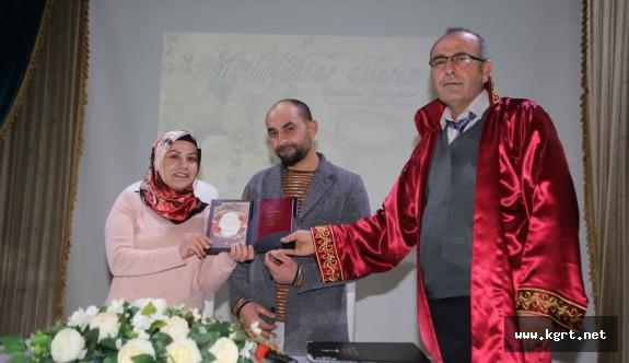 Karaman'da 2018 Yılının İlk Nikahı Kıyıldı