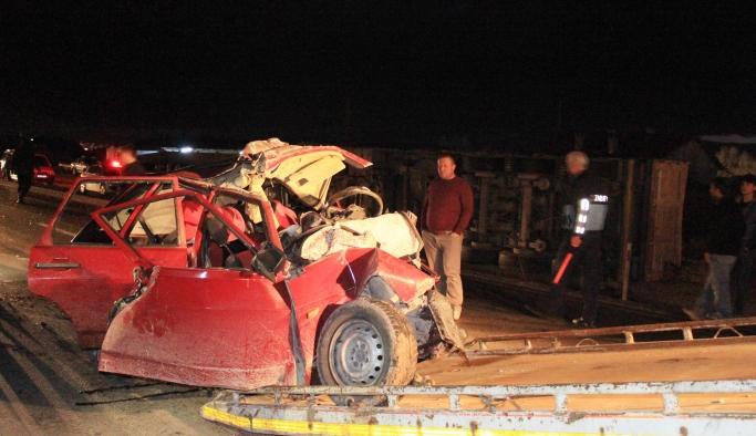 Kazada 4 Kişilik Aile Yok Oldu