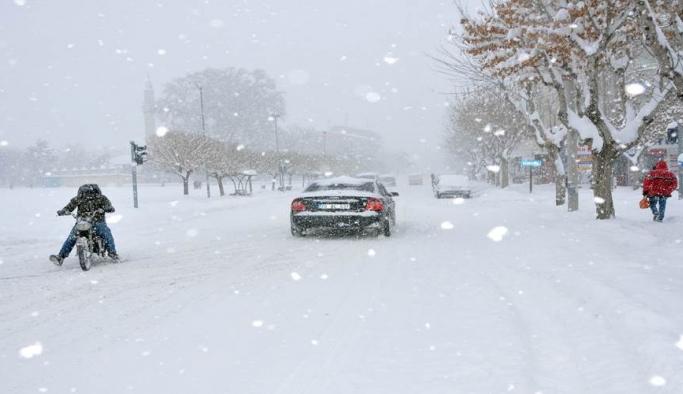 Meteoroloji'den Kuvvetli Rüzgar Ve Kar Uyarısı