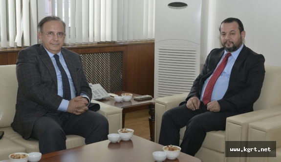 Mustafa Sonay Gürgen'den Rektör Akgüle İade-i Ziyaret