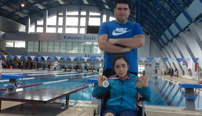 Neslihan Kılıçoğlu'ndan Beş Türkiye Şampiyonluğu