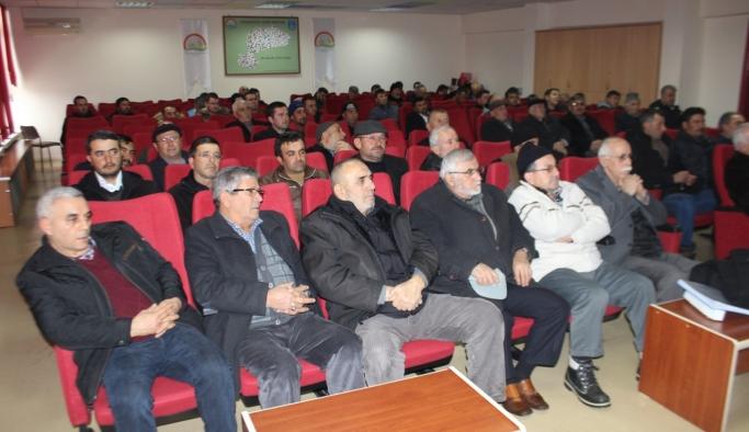 Ürün Yönetimi Ve İyi Tarım Uygulamaları Toplantısı Yapıldı