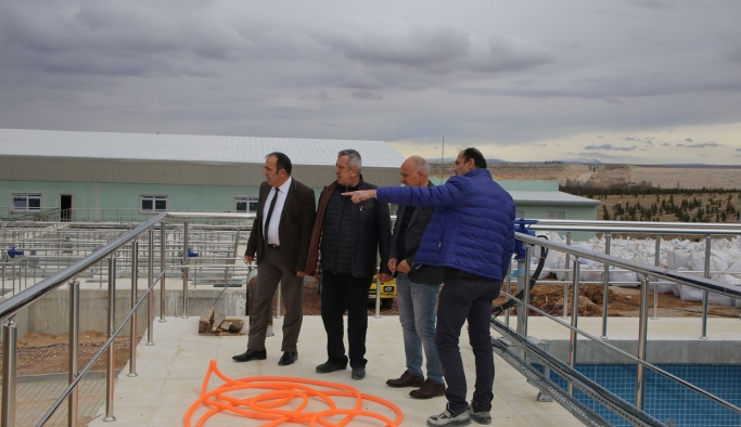 İbrala Barajından Arıtma Tesisindeki Havuzlara Test Amaçlı Su Verilmeye Başlandı