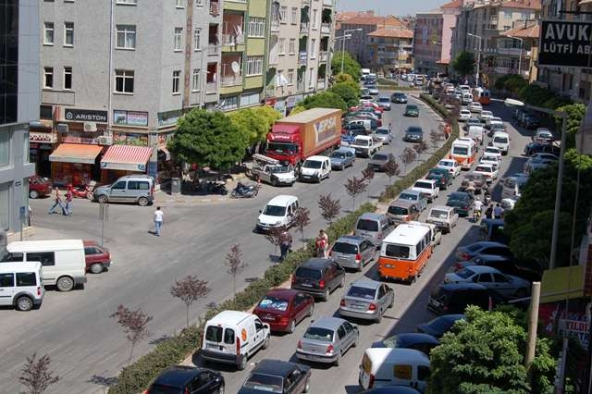 Karaman'da Araç Sayısı Bir Yılda 3 Bin 591 Adet Arttı