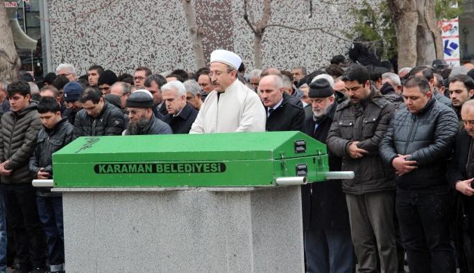 Karaman'daki Kazada Hayatını Kaybeden Kişi Toprağa Verildi