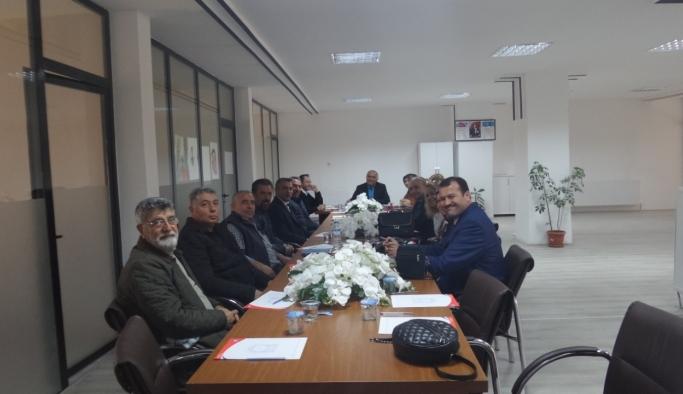 Kent Konseyi Çevre Ve Sağlık Meclisi Toplantısı Yapıldı