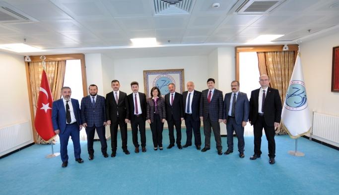 Rektörler Kilis'te Zeytin Dalı Harekatına Destek Verdi