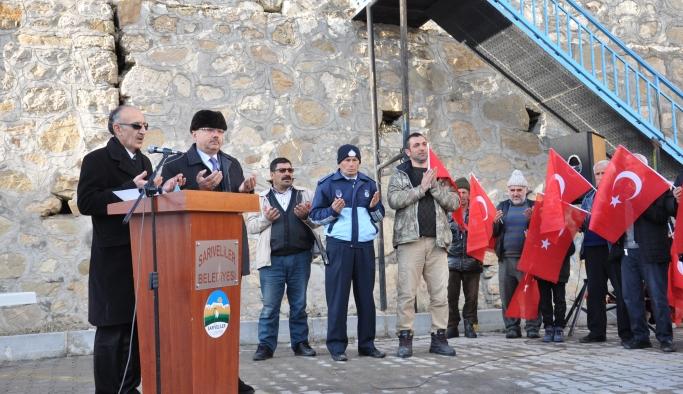 Sarıveliler'de 200 Kişi Afrin Operasyonuna Katılmak İçin Dilekçe Verdi