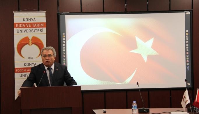 Konya Gıda Ve Tarım Üniversitesi Çanakkale'yi Unutmadı