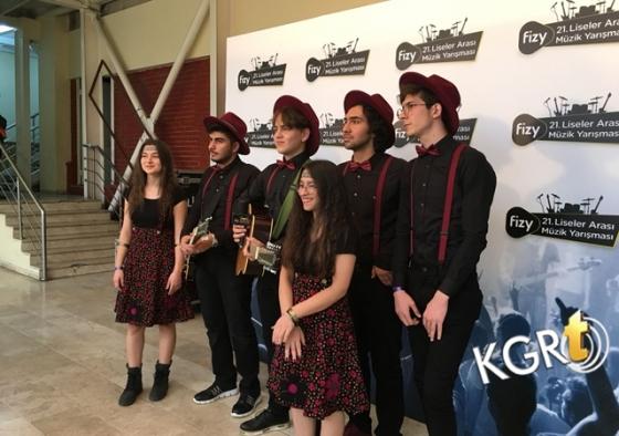 Fizy Liseler Arası Müzik Yarışmasında Karamanlı Grup Destek Bekliyor
