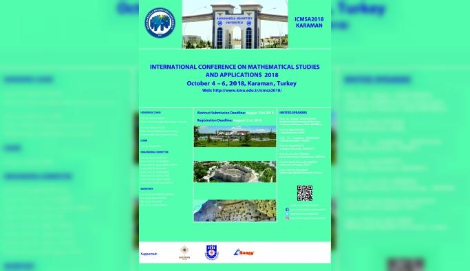 KMÜ, Uluslararası Matematik Konferansına Ev Sahipliği Yapacak