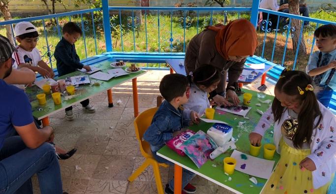 Medine Yaşar Evcen Anaokulu Sevgi Evleri Çocuklarını Bu Bayramda Unutmadı
