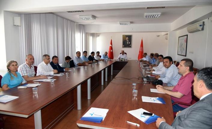 İl İstihdam Kurulu Toplantısı Vali Meral Başkanlığında Yapıldı