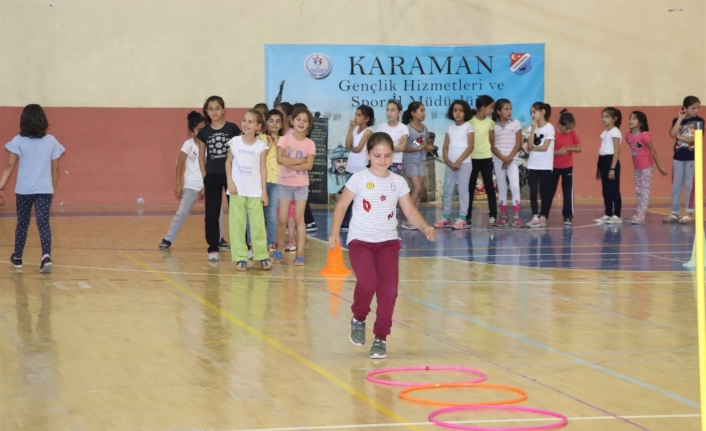Karaman'da Yetenek Taraması İkinci Etap Başladı