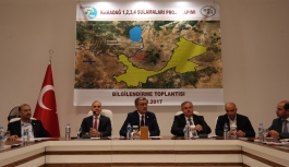 Karadağ Sulama Projeleri İle 27 Yerleşim Yerinde 43.540 Hektar Alan Sulanacak