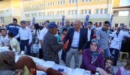 İftar Sofrası Karamanoğlu Mehmet Bey Mahallesi'nde