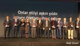 Göçmen Makine Üretimde Yarım Asrı Aşan Türkiye'nin Makinecileri Onur Ödülü'nün Sahibi Oldu
