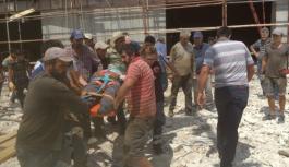 Karaman'da Spor Salonu İnşaatından...