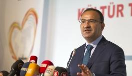 """Başbakan Yardımcısı Bozdağ: """"Suç..."""