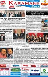 www.kgrt.net - 15.03.2019 Manşeti