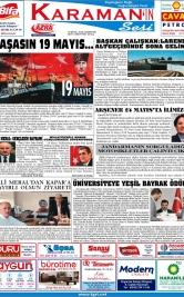 www.kgrt.net - 19.05.2018 Manşeti
