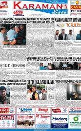 www.kgrt.net - 23.06.2018 Manşeti