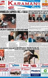 www.kgrt.net - 09.08.2018 Manşeti
