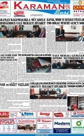 www.kgrt.net - 13.10.2018 Manşeti